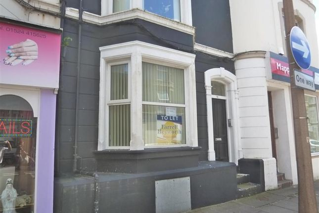 Thumbnail Flat to rent in Victoria Street Ground Floor Flat, Morecambe