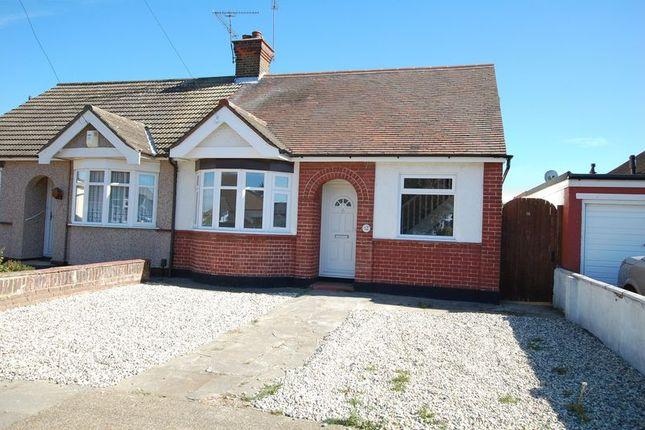 Thumbnail Semi-detached bungalow to rent in Gordon Road, Woodside, Grays