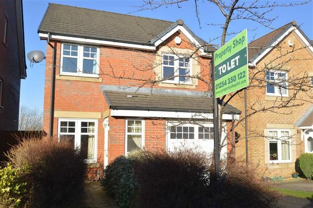 Thumbnail Detached house to rent in Bluebell Way, Huncoat, Accrington
