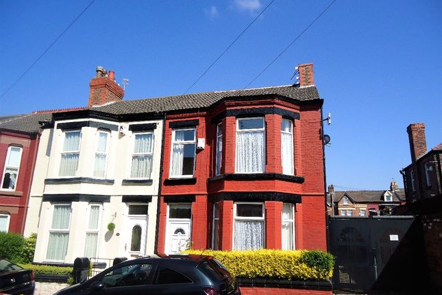 Thumbnail Terraced house for sale in Merton Place, Birkenhead, Wirral