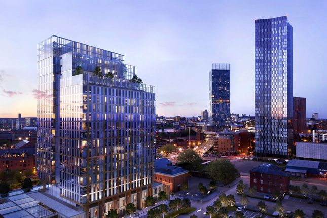 Thumbnail Flat for sale in Silvercroft Street, Manchester