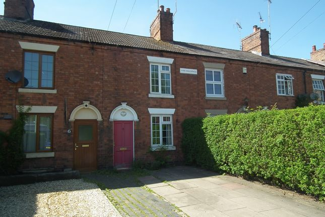 Thumbnail Terraced house to rent in Vine Buildings, Pall Mall, Nantwich