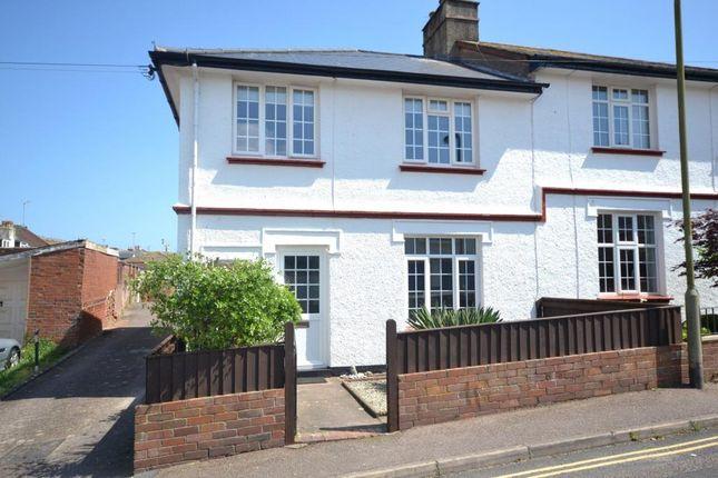 Front Elevation of Cliff Road, Budleigh Salterton, Devon EX9
