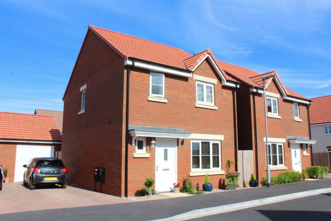 Thumbnail Detached house for sale in Sweeting Close, Creech St Michael, Taunton