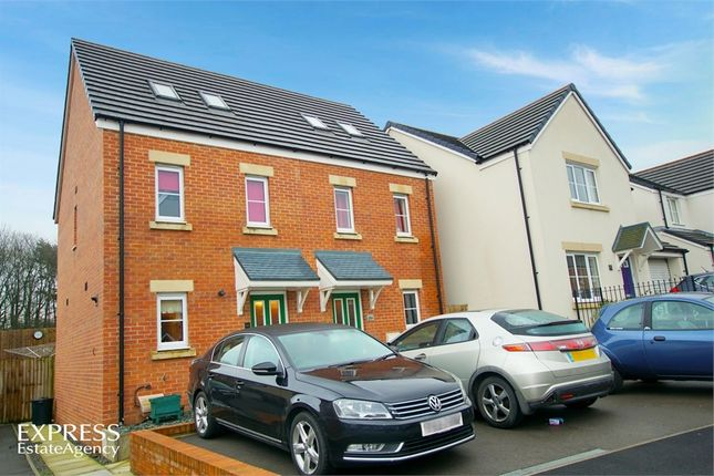 Thumbnail Semi-detached house for sale in Cilgant Y Lein, Pyle, Bridgend, Mid Glamorgan