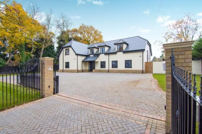 Thumbnail Detached house for sale in Shepherds Hill, Harold Wood, Romford