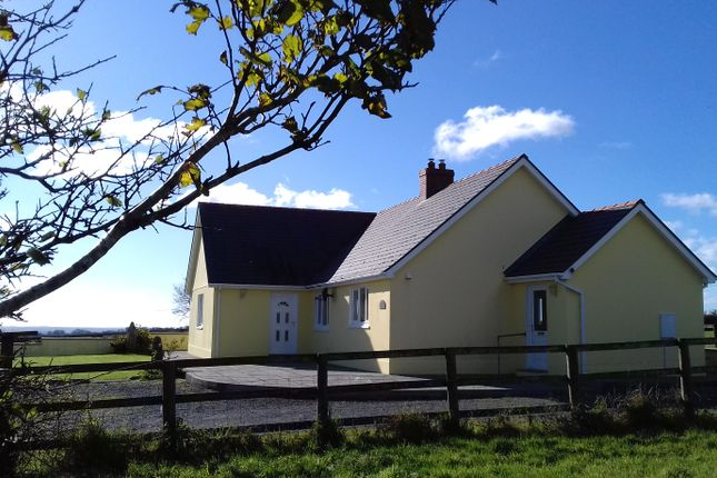 Thumbnail Detached bungalow for sale in Llangolman, Clynderwen