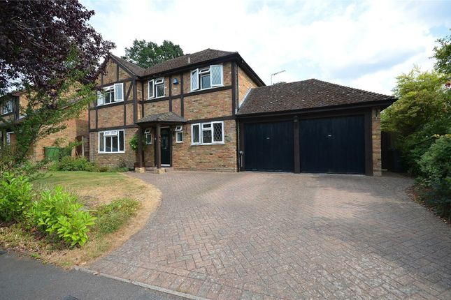 Thumbnail Detached house for sale in Henley Drive, Frimley Green, Surrey