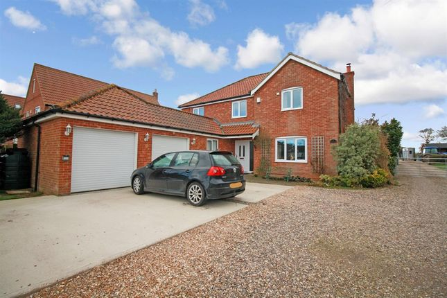 Thumbnail Detached house for sale in Russets, Thrigby Road, Filby, Great Yarmouth