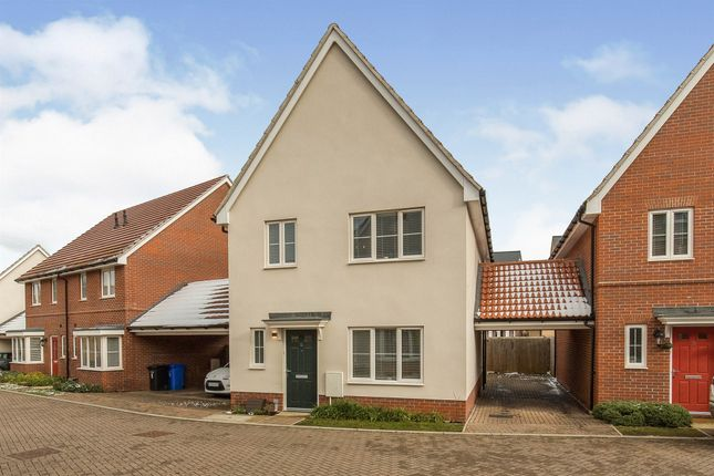 Thumbnail Detached house for sale in Reed Lane, Red Lodge, Bury St. Edmunds