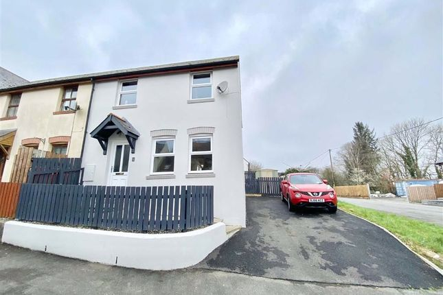 3 bed end terrace house for sale in Heol Ty Newydd, Cilgerran, Cardigan, Pembrokeshire SA43