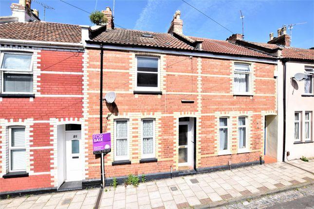 Thumbnail Terraced house for sale in Bradley Crescent, Shirehampton, Bristol
