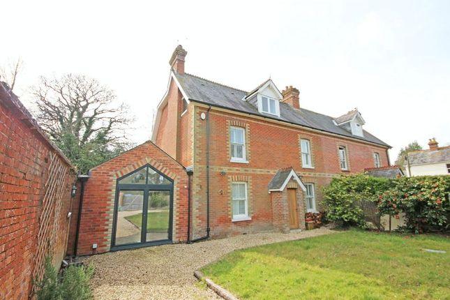 Thumbnail Semi-detached house to rent in Ober Road, Brockenhurst