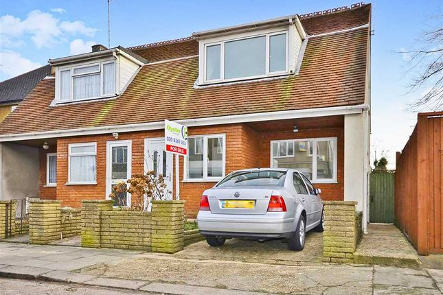 Thumbnail Semi-detached house for sale in Brunswick Avenue, New Southgate