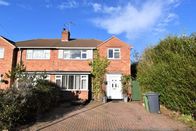 Thumbnail Semi-detached house for sale in Dale Close, Warwickshire