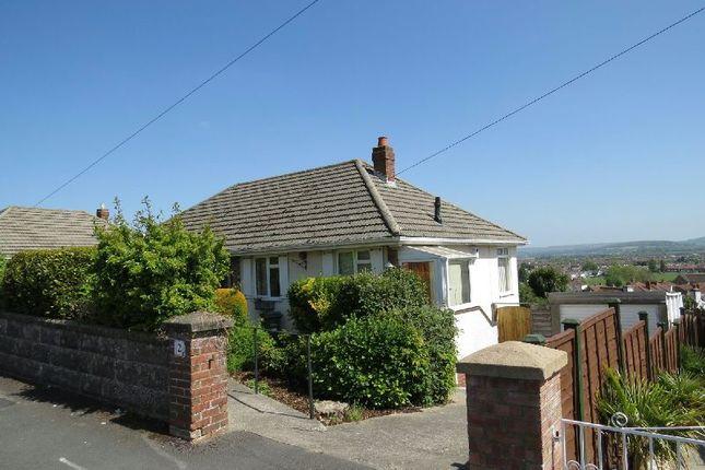Thumbnail Detached bungalow to rent in Roslyn Avenue, Milton, Weston-Super-Mare