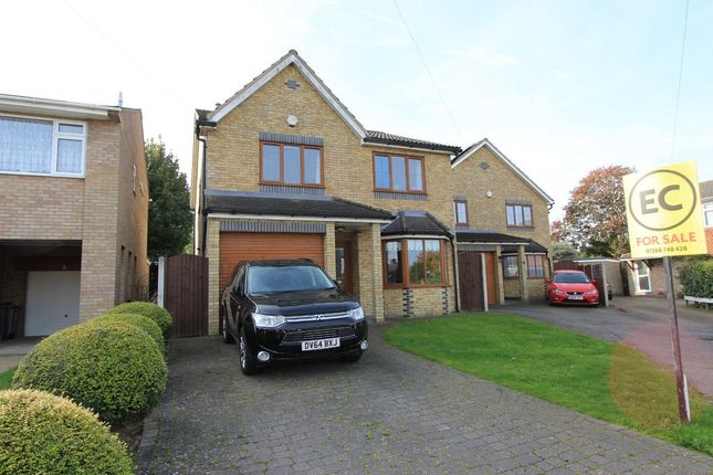Thumbnail Detached house for sale in Trinity Close, Rayleigh