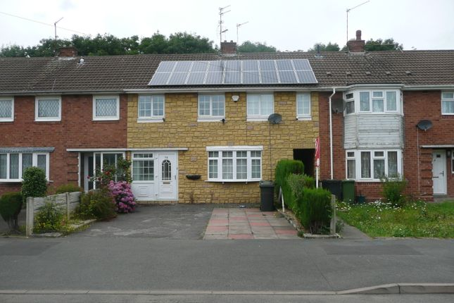 Thumbnail Terraced house to rent in Westacre Crescent, Wolverhampton