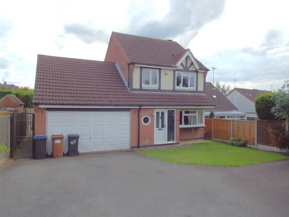 Thumbnail Detached house for sale in Woodland Close, Markfield, Leicester, Leicestershire