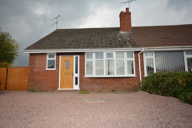 Thumbnail Bungalow to rent in Addison Close, Crewe