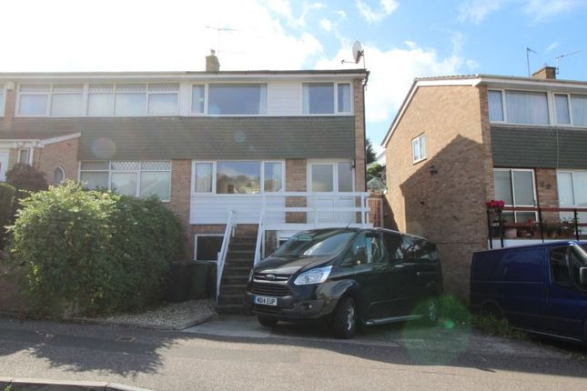 Thumbnail Semi-detached house to rent in Woodwater Lane, Exeter