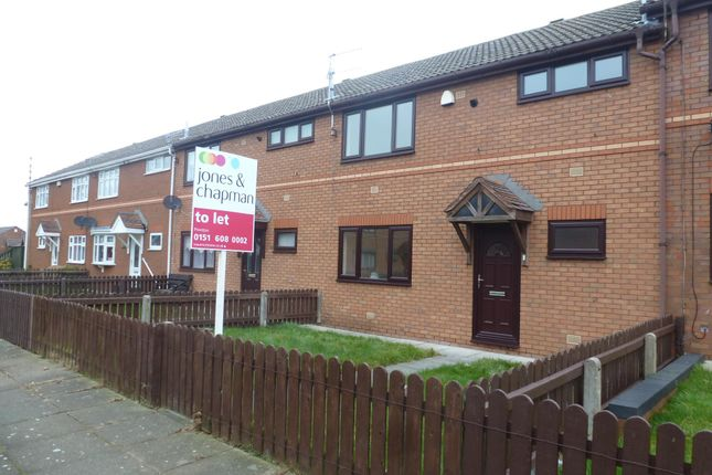 Thumbnail Terraced house to rent in Eastview Close, Prenton