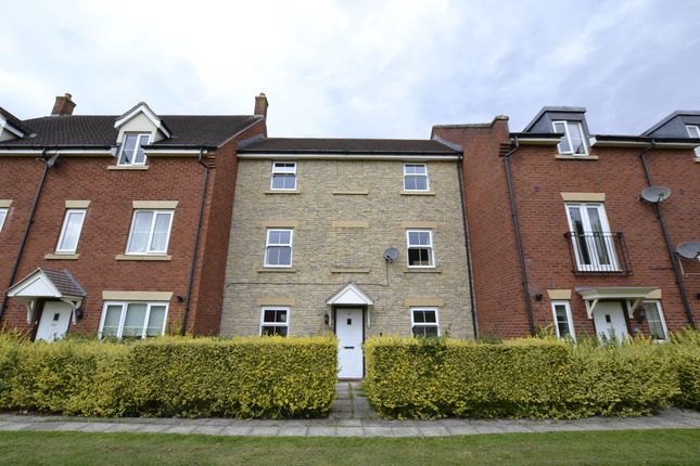 Thumbnail Terraced house to rent in Beamont Walk, Brockworth, Gloucester