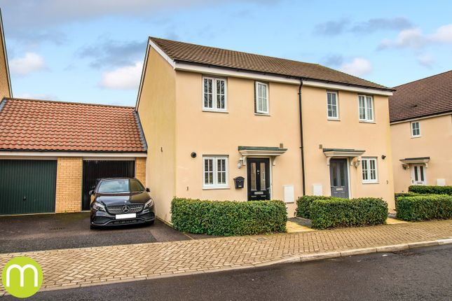 Semi-detached house for sale in Foundation Way, Colchester