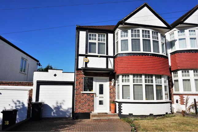 Thumbnail Semi-detached house for sale in Court Road, London