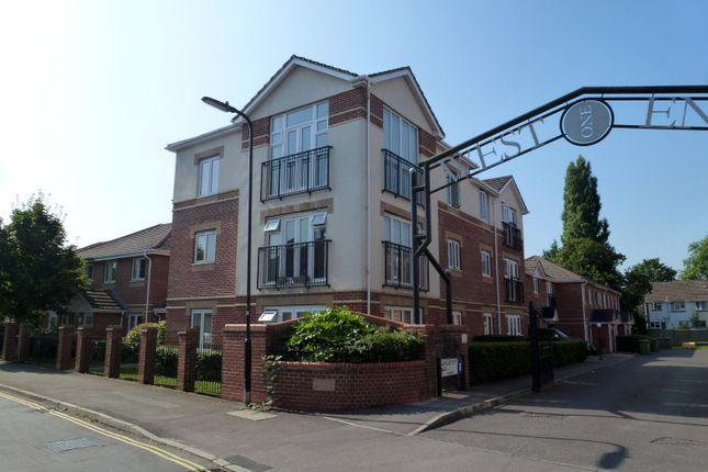 Thumbnail Flat to rent in Langstaff Way, Southampton