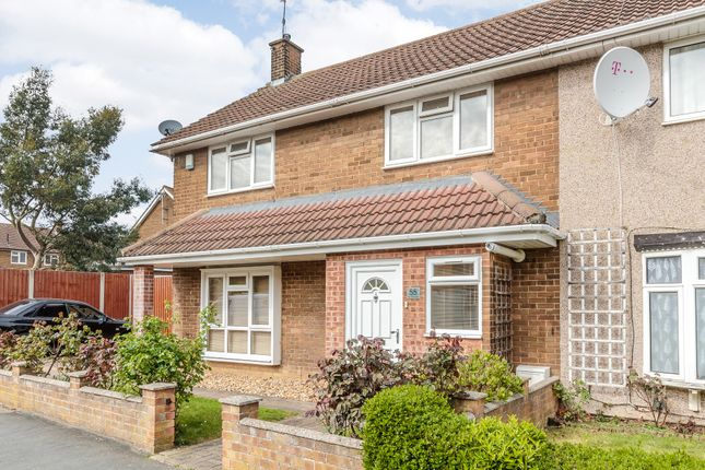 3 bed end terrace house for sale in The Greensted, Basildon, Essex
