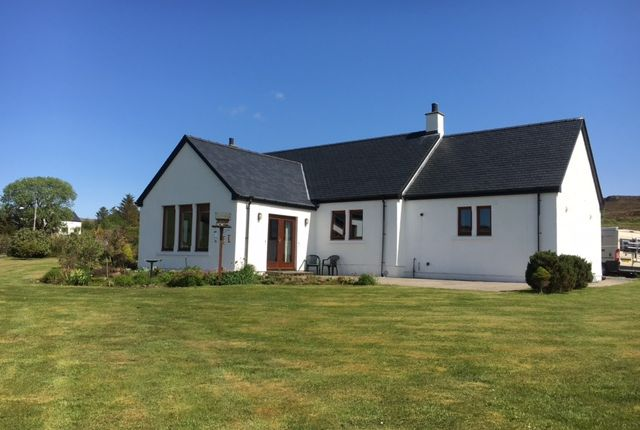 Thumbnail Detached bungalow for sale in Annishader, Portree