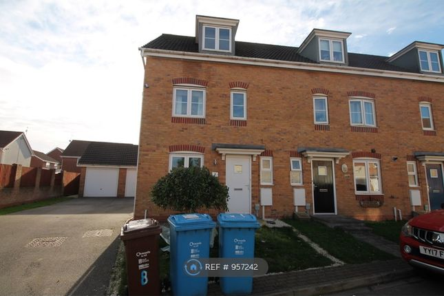 Thumbnail End terrace house to rent in Meadow Rise, Kingswood, Hull