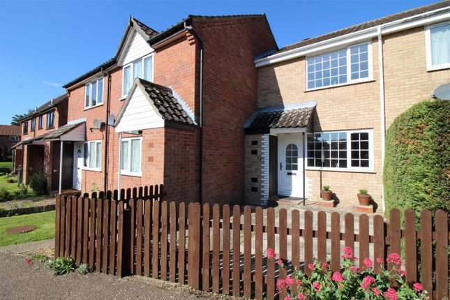 Thumbnail Terraced house for sale in St. Michaels Road, Long Stratton, Norwich