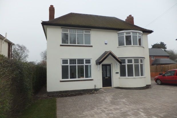 Thumbnail Detached house to rent in High Street, Burntwood