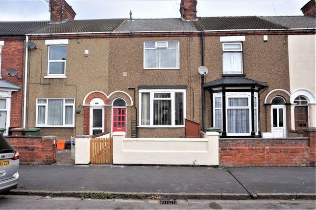 Thumbnail Terraced house for sale in Algernon Street, Grimsby