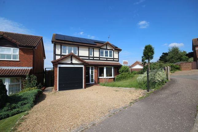 Thumbnail Detached house to rent in Chestnut Leys, Steeple Claydon