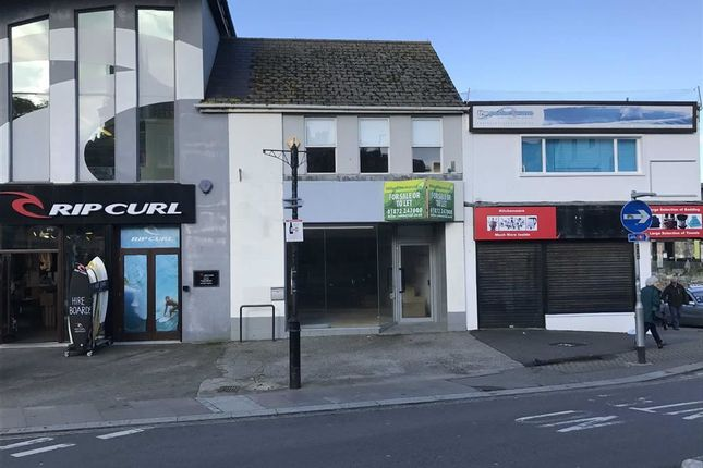 Thumbnail Retail premises for sale in 63, Bank Street, Newquay