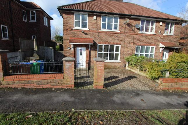 Thumbnail Semi-detached house to rent in Rhodes Crescent, Kirkholt, Rochdale