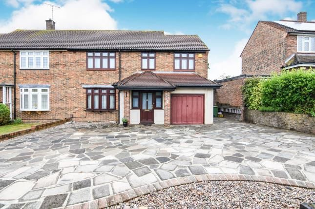 Thumbnail Semi-detached house for sale in Harold Hill, Romford, Havering