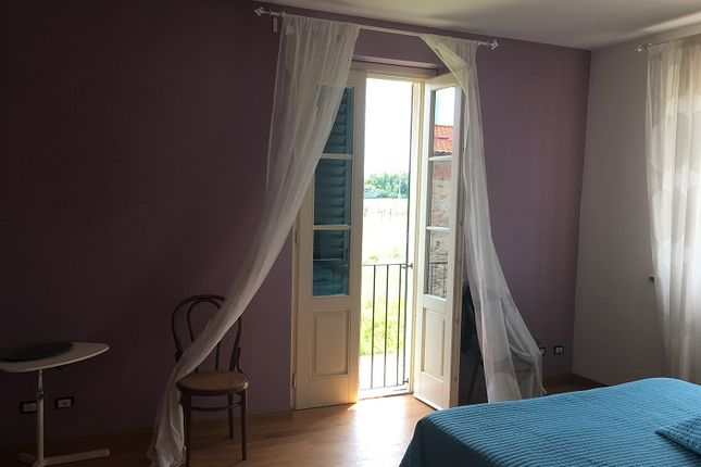Bedroom With French Window