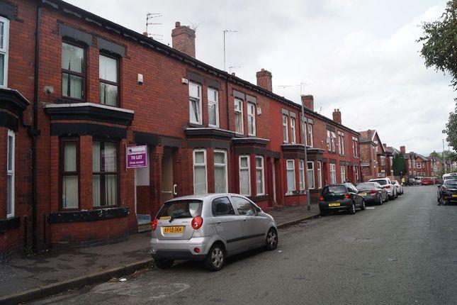 Thumbnail Terraced house to rent in Greville Street, Longsight