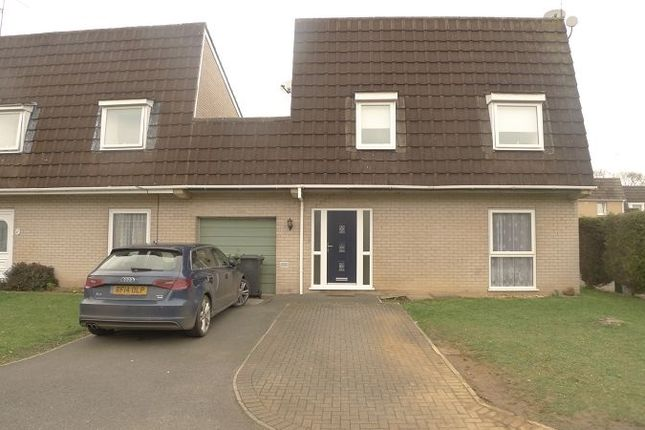 Thumbnail Detached house to rent in Muskham, Bretton, Peterborough, Cambridgeshire.