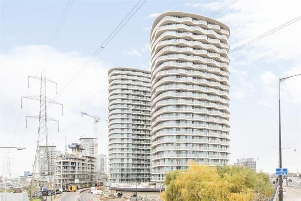 Thumbnail 1 bed flat for sale in Hoola, 1 Tidal Basin Road, London