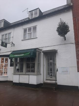Retail premises to let in High Street, Honiton