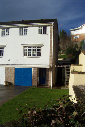 Thumbnail End terrace house to rent in Hollywater Close, Torquay