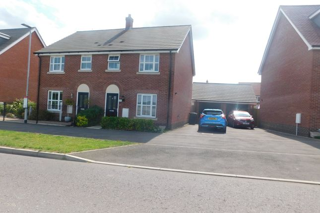 End terrace house for sale in Brooke Way, Stowmarket