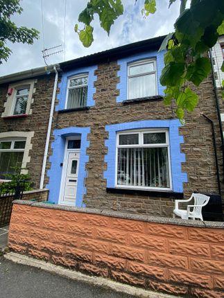 Terraced house for sale in Bryngoleu Crescent, Ferndale, Rhondda, Cynon, Taff.