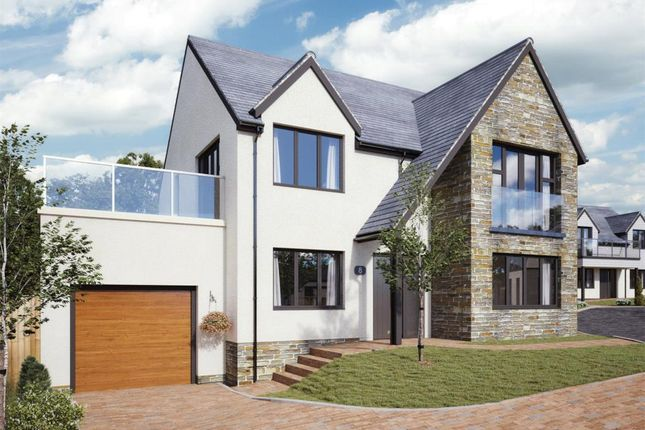 Thumbnail Detached house for sale in Camaret Gardens, Camaret Drive, St. Ives, Cornwall