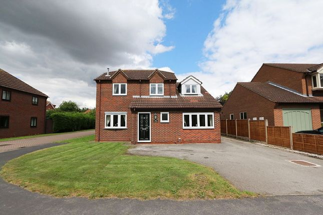 Thumbnail Detached house for sale in Carrside, Epworth, Doncaster, Lincolnshire